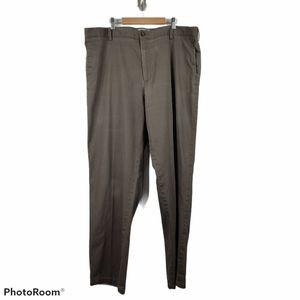 Dockers Classic Fit Gray Khaki  Flat Front Trouser